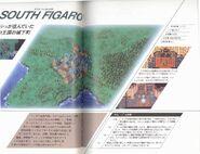 Final Fantasy VI Settei Shiryou Hen South Figaro