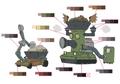 Jun and Nene palette concept for Final Fantasy Unlimited