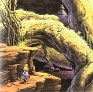 Mountain Path FF9 Art 3