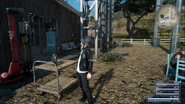 Radio at Prairie Outpost in FFXV