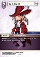 Red Mage 5-097C from FFTCG Opus