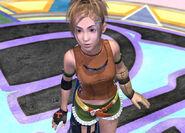 Rikku before fighting Sin