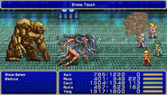 FF4PSP Enemy Ability Stone Touch