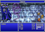 FFIV GBA - Summon Shadow Dragon