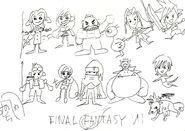 FFVII - Nomura's Best Sketch Ever