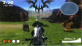 FFXIII-2 Scrapped Snow Motorcycle Minigame
