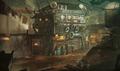 Sector 5 Undercity artwork for FFVII Remake