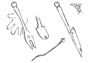 Tyrant's silverware concept for Final Fantasy Unlimited