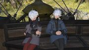 Alphinaud and Alisaie Gridania Opening