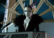 Edea on the palace podium from FFVIII Remastered