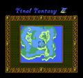 FFIII NES World Map