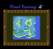 FFIII NES World Map
