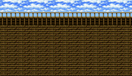 FFIV Battle Background Airship SNES