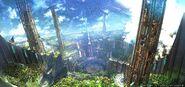 Labyrinthos artwork from Final Fantasy XIV