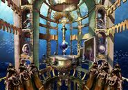 Early FFX - Underwater dome