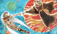 FFIII Manga Dogo and Unei Young
