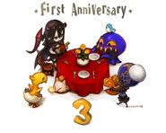 FFXIV 1st Anniversary Countdown 3 Days