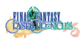 The Logo of Final Fantasy Crystal Chronicles.