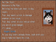 Pet Pals 1 Angelo Strike from FFVIII Remastered