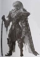 The Warrior Artwork