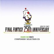 Final Fantasy 25th Anniversary Square Enix Music Composers' Selection CD