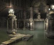 Alexandria Castle Neptune CG Art Rowell
