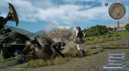 Blindside link with Iris from FFXV