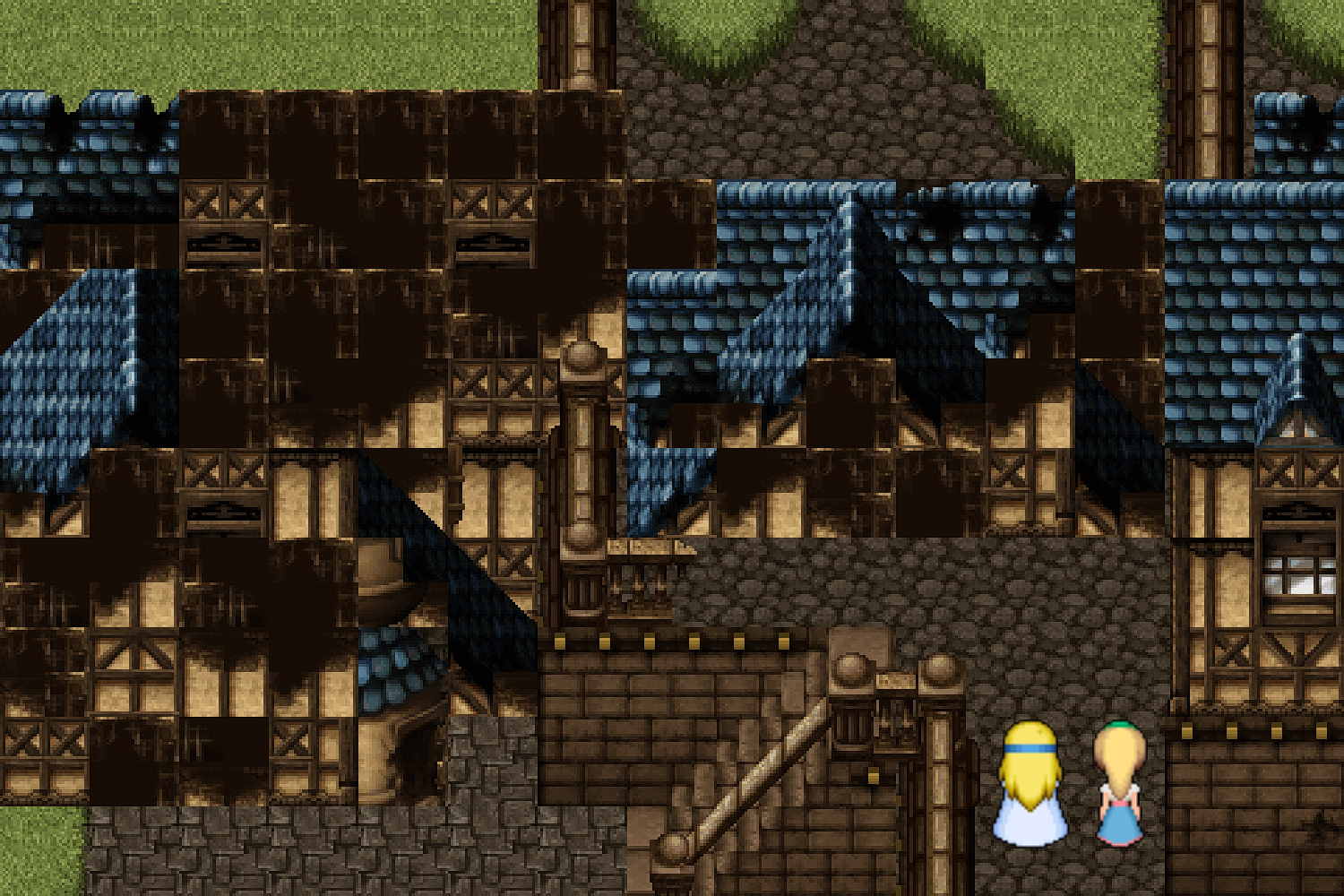 FFVI PC Crumbling House Collapsed.png