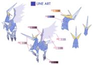Ixion palette concept for Final Fantasy Unlimited