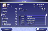 Status menu ffiv ios 1