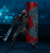 The Huntsman from FFVII Remake Enemy Intel