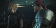 VII Remake Coud and Wedge