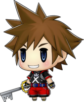 Sora in World of Final Fantasy.