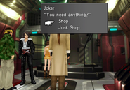 CC Joker shop inside Ragnarok from FFVIII Remastered