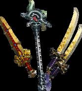 DFF2015 Royal Sword & Kotetsu & Rune Staff Onion Knight
