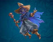 FFD2 Jornee Black Mage Art