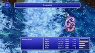 Rydia using Tsunami from FF4 Pixel Remaster