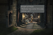 Blank disguised as a Knight of Pluto from FFIX Remastered