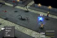 Creeps uses Thunder from FFVIII Remastered