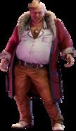 Don Corneo Final Fantasy VII Remake render