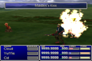FFVII Maiden's Kiss