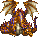 FF4PSP Yellow Dragon