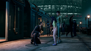 FFVIIR Sector 7 Slums Station and Kyrie
