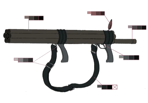 Blowgun palette concept for Final Fantasy Unlimited.png