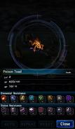 FFBE Poison Toad Analyze