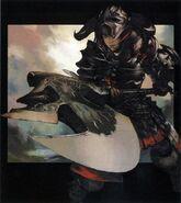FFXIV ARR Warrior Promo Art