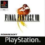 Final Fantasy VIII European box art