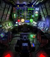 Submarine control room