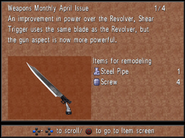 Weapons Monthly April Shear Trigger from FFVIII R
