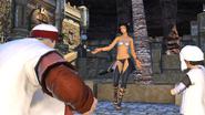 FFXIV Dancing Girl Western Thanalan